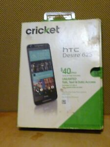 """NEW HTC Desire 625 4G LTE GSM Cricket Android 5.1 Quad core LCD 5.0"""" 8GB White"""