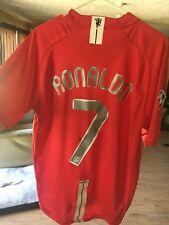 Ronaldo Manchester United 2007-2008 Champions League Jersey/ShirtMedium