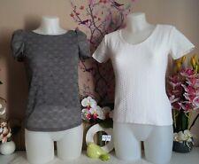 "Lot vêtements occasion femme - Hauts "" Kookai - 123 "" - T : 36"