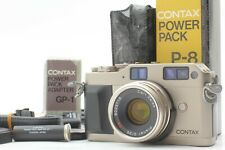 [EXC+4] Contax G1 Planar 35mm F2 Power Pack P-8 GP-1 Film Camera From Japan 300