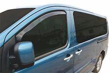 FIAT SCUDO 5 door 2007-2012 Front wind deflectors 2pc set TINTED HEKO