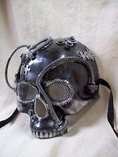 Steampunk Skull Mask Industrial Futuristic Robot Apocalyptic Warrior Doom Cyborg