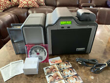 Fargo HDP5000 Dual Side ID Card Printer & Supplies Bundle!!!