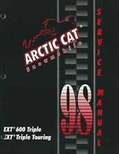 1998 Arctic Cat Snowmobile Service Repair Manuals Oem - Select Model from List