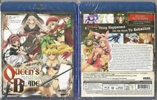 Queen's Blade Beautiful Warriors Complete Ova Collection (BLU-RAY,2014)