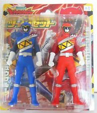 Zyuden Sentai KYORYUGER Figure red blue Twin set RARE From JAPAN F/S 2013