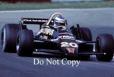Keke Rosberg Wolf WR9 F1 Season 1979 Photograph