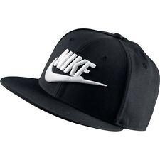 Gorras y sombreros de hombre Nike de poliéster de color principal negro