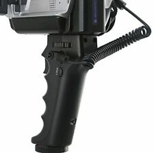 Pistol Grip Remote shutter release for SONY camcorders with A/V R or LANC port.