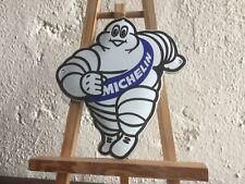 Michelin Mann Vintage Reklame Schild Emaile