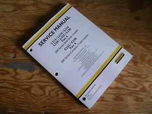 New Holland L225 L230 Tier 4 Skid Steer Cab Electrical Wiring Diagrams Manual