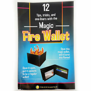 Flame Wallet - Open Your Wallet To Take Out Some Cash and It Bursts Into Flames!