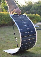 50W 18V Mono Solar Panel Kit for Home Caravan Boat Marine Car 12V Battery Charge
