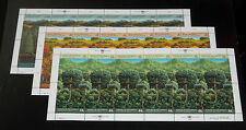U.N. 1988, Survival Of The Forests,Sheets/12 ,Mnh,All 3 Offices, Nice! Lqqk!