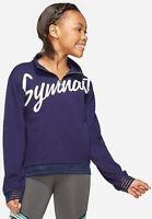 Justice Girl's Strappy Sport Gymnast Gymnastics Sweatshirt Size 8 - NWT NEW - b3