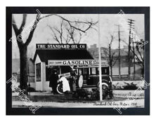 Historic Standard Oil gas station 1918 Postcard