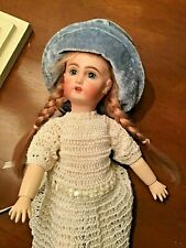 Antique Reproduction Bleuette Doll by Suzanne McBrayer plus clothes, chair