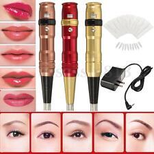 Excellent Eyebrow Lip Liner Power Permanent Makeup Pen Supply Tattoo Machine Set
