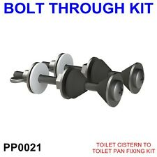Toilet Cistern To Toilet Pan Fixing, Fitting Sealing Kit Close Coupling Bolts WC
