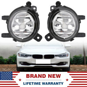 1 Set For BMW 2012-2015 F30 F31 F34 3 Series Sedan Replacement Bumper Fog Lights