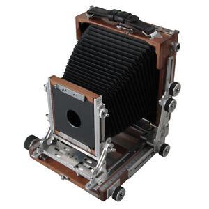 Shen Hao TZ45-II C IIC 4x5 Field Folding Black Walnut Wooden Large Format Camera