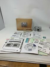Canon PowerShot A540 Digital Camera - Disk, Manuals, Media Card & Box