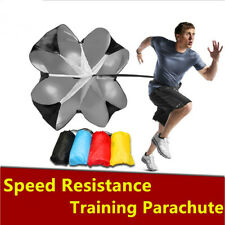 "1Pc Speed running power Chute resistance exercise training parachute 56"" Sports"