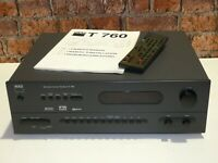 NAD T760 Dolby 5.1 Home Cinema Surround Sound Receiver Amplifier + Remote Manual