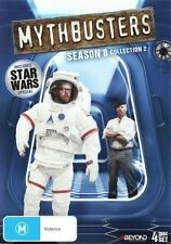 Mythbusters : Season 8 : Collection 2 (DVD, 2014, 4-Disc Set)