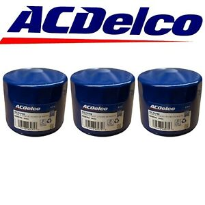 ACDelco PF454 Engine Oil Filter For Buick Cadillac Chevrolet GMC Pontiac 3 Pack