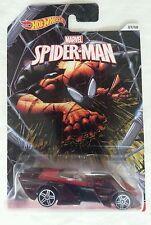 NEW HOT WHEELS SPIDER MAN SHREDSTER race car 07/08 MOC Marvel.com comics #1