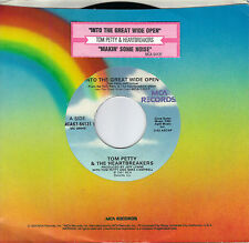 TOM PETTY  Into The Great Wide Open / Makin' Some Noise  45 with jukebox tab
