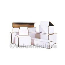 100 - 10 x 3 x 3 White Corrugated Shipping Mailer Packing Box Boxes