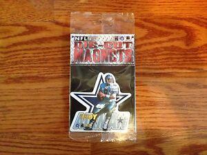 NFL Troy Aikman Dallas Cowboys Die Cut Magnet - BRAND NEW