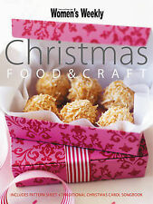 Australian Womens Weekly Cookbook  CHRISTMAS FOOD AND CRAFT PATTERNS & SONG BOOK