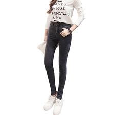 Women Ladies Slim SKINNY Fit Denim Jeans Jeggings Size 8 10 12 14 16 Deep Blue 8