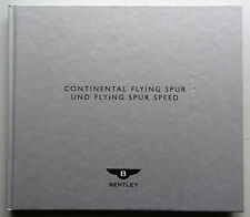 V15982 BENTLEY CONTINENTAL FLYING SPUR & FLYING SPUR SPEED - CATALOGUE - 2009-D