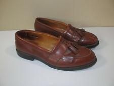Allen Edmonds Men's Size 10 E Tassel Brown Moc Toe Dress Loafers Shoes