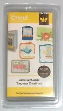Cricut Cartridge - CREATIVE CARDS - with Envelopes- Brand New - Sealed