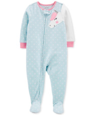 Carter's Baby Girls Footed Unicorn Pajamas, Size 24 Months