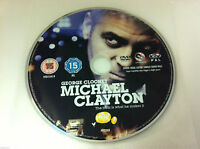 Michael Clayton DVD R2 Film George Clooney - DISC ONLY in Plastic Sleeve
