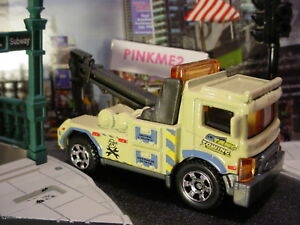 2018 CITY SERVICE Design URBAN TOW TRUCK☆Beige;TANG TOWING☆Loose MATCHBOX