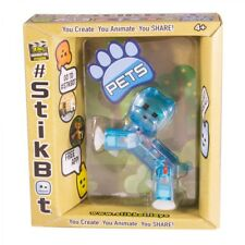 Stikbots - Single Pet Figure Pack (One Supplied, Random Colour) - Brand New
