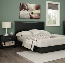 Black Queen Storage Platform Bed 3 Piece Bedroom Set Home Living Furniture Dorm
