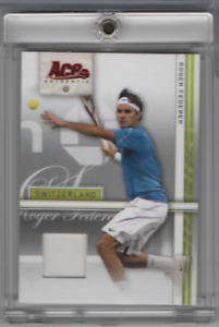 Roger Federer 2007 Ace Authentic BRONZE Parallel #34 072221MLCD27