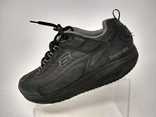 Sketchers Shape Ups Mens Toning Fitness Size 11 Black Grey Shoes SN52000