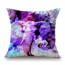 "Elephant 18x18"" Size Decorative Cushions & Pillows"
