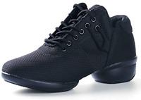 Mesh Women's Modern Split-Sole Dance Ballroom Breathable Lightweight Sneaker 7.5