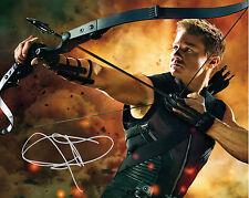 Jeremy Renner (Hawkeye) #2 - 10X8 pré imprimé de qualité labo photo à imprimer gratuit del