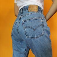 Women`s Vintage Levi`s 501 High Waist Boyfriend Jeans UK Size 14 / W34 L30